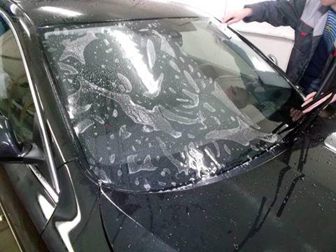 Бронирование лобового стекла в Одессе